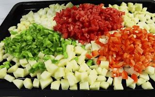 صينية خضار مشكلة بالفرن بدون لحم و بدون دجاج بالفيديو Food Cobb Salad Salad