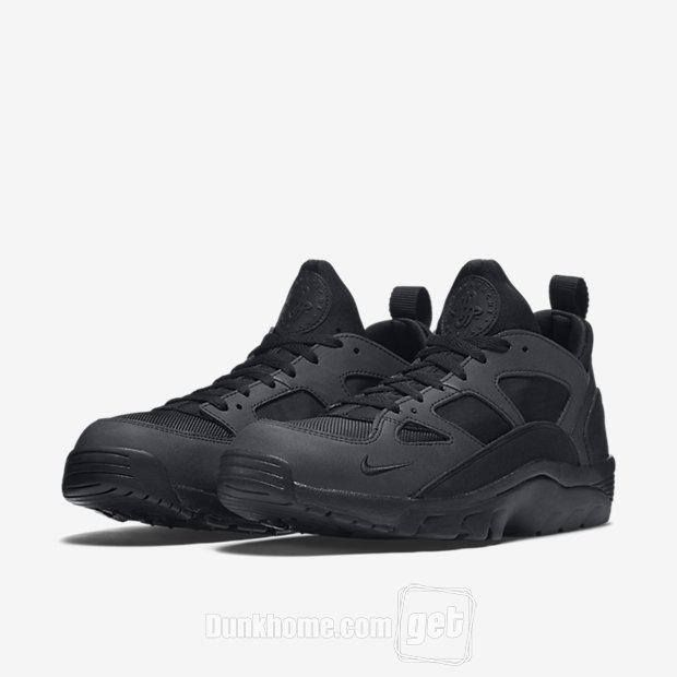 reputable site a1501 4a745 RELEASE REMINDER   Launching at 8am GMT Nike Air Trainer Huarache Black  http