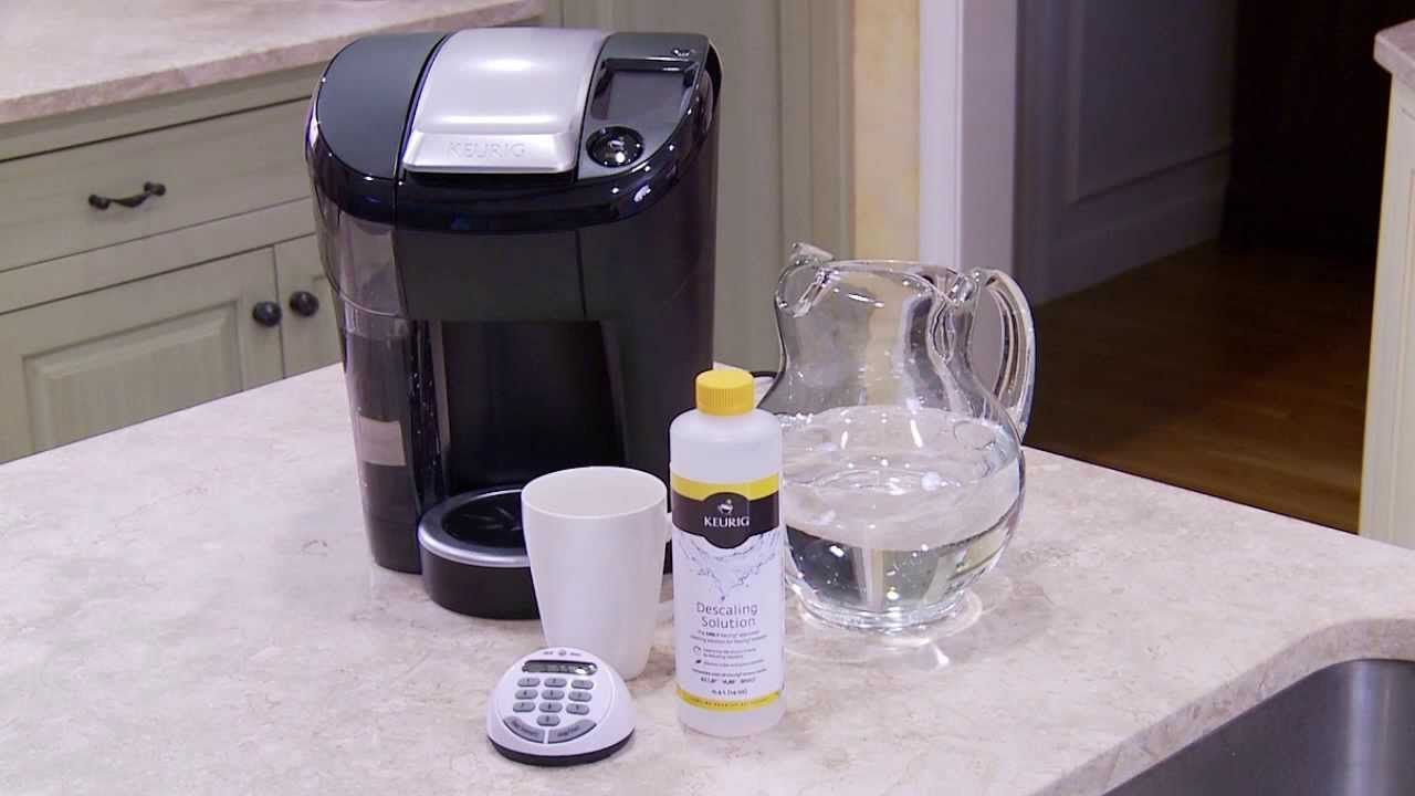 Vue 174 System How To Descale Keurig Cleaning Descale