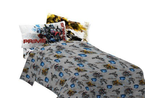 Hasbro Transformer 3 Armada Twin Sheet Set, Multi, 2015 Amazon Top Rated  Sheets U0026