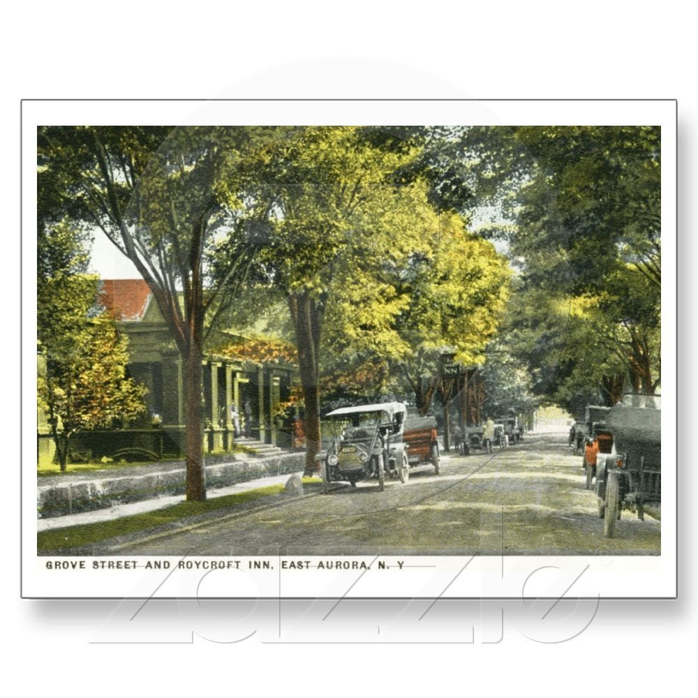 Roycroft Inn, East Aurora, NY Vintage Postcard