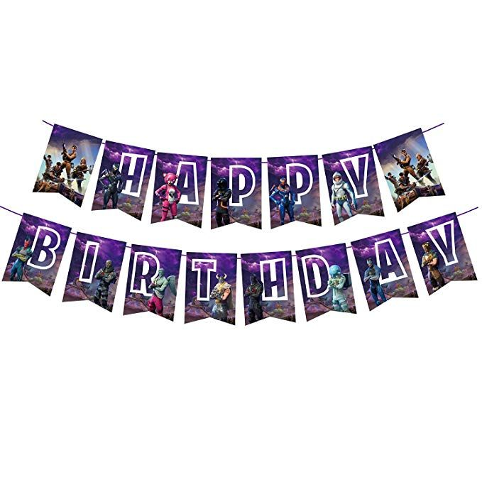 Amazonsmile Awyjcas Video Game Party Favors Birthday Banner Party