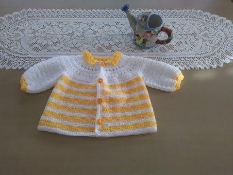 Poncho con Mangas tejido a crochet paso a paso - YouTube ... 61af363c1c11