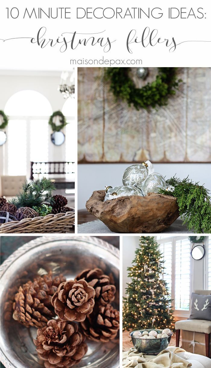 Ideas For Filling Decorative Bowls Easy Christmas Decor Fillers