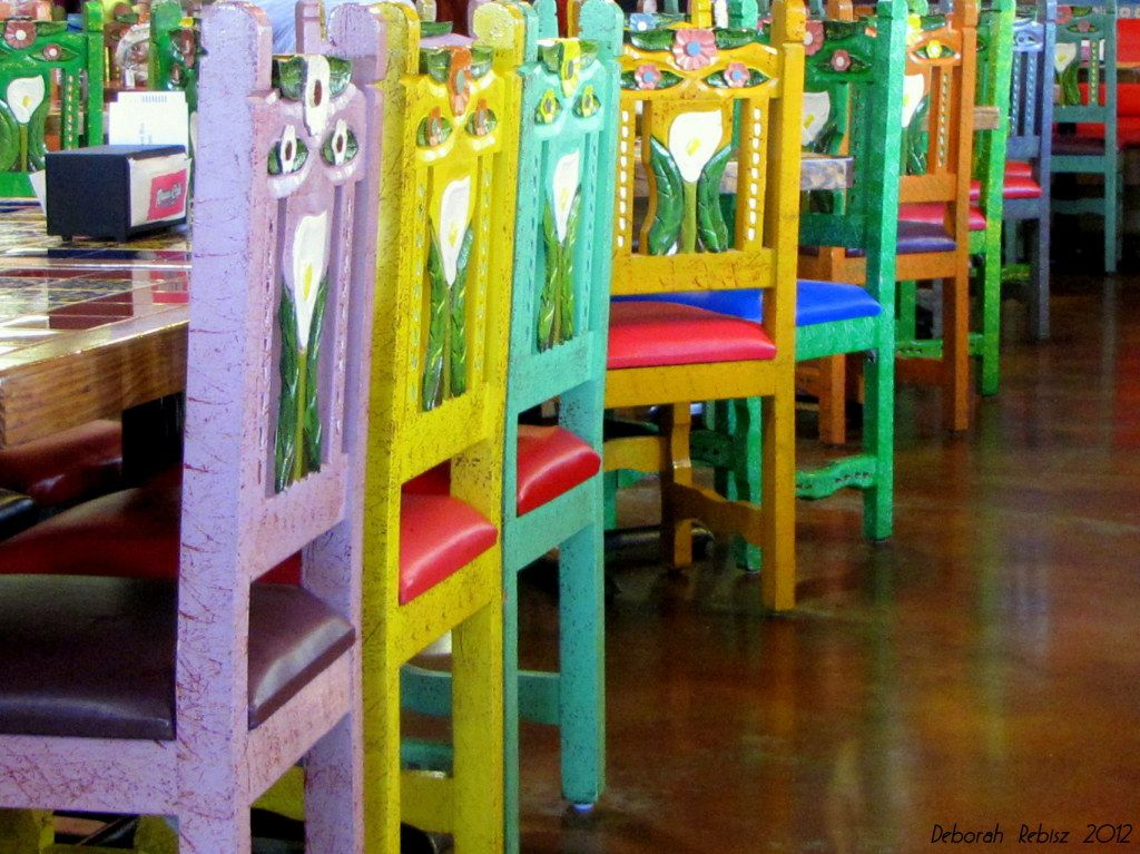 Colorful Chairs At Rosau0027s Cafe In Cedar Park, TX Fav Place My Grandkids  Love To