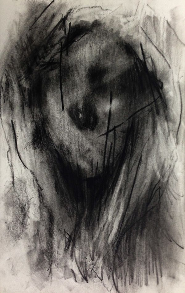 (D67) untitled conte on paper 23.8 x 15.4 cm 2013 on Behance