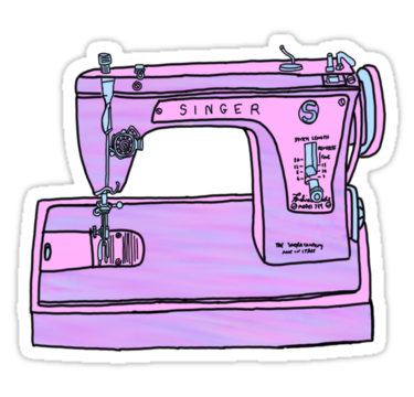 purple singer sewing machine by andilynnf (With images