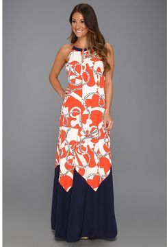 dbc0635fbb4fc4 Lilly Pulitzer - Winnie Maxi Dress (Tango Orange Booze Cruise) - Apparel on  shopstyle.com