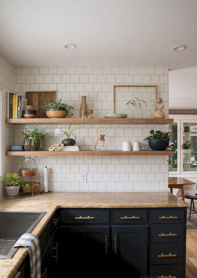 67 Absorbing Kitchen Shelves Remodel Ideas On A Budget With