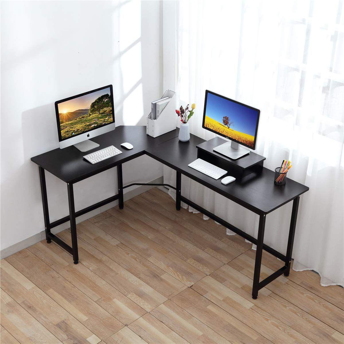 Computer Desk Crazylynx Corner Desk Pc Workstation Table With
