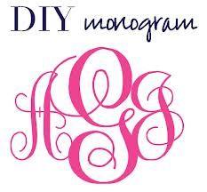 image regarding Printable Monogram Stencil identify monogram generator - Google Look Cunning Monogram fonts