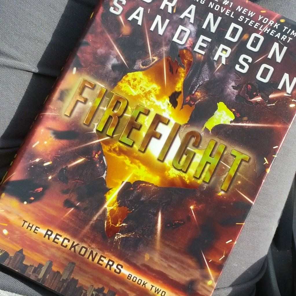 Firefight by Everead Books for boys, The reckoners, This