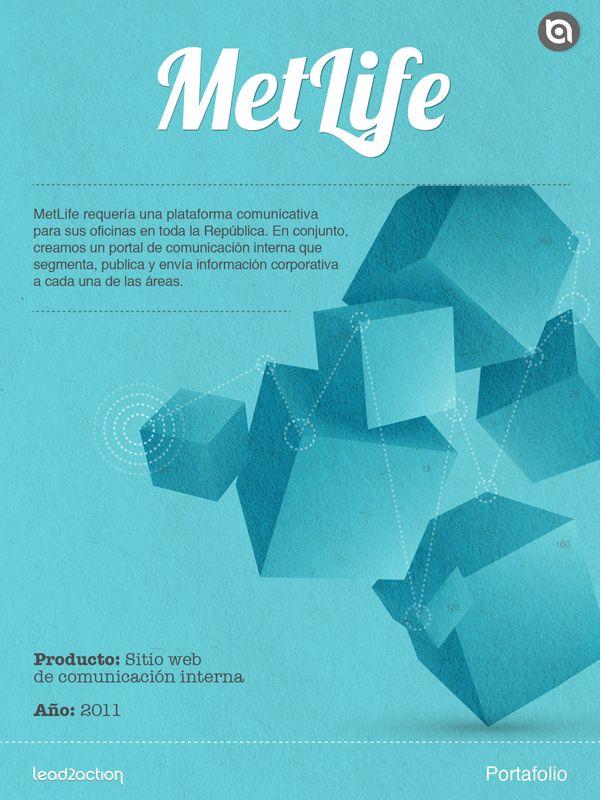 Se creó un portal de comunicación interna para cada una de las áreas de MetLife.