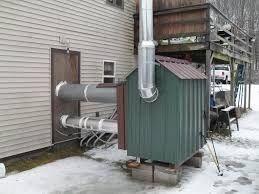 diy outdoor wood burning forced air furnace catarsisdequiron