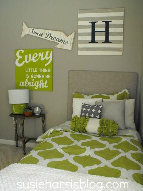 Best Green Grey White Patterns Art Upholstered 400 x 300
