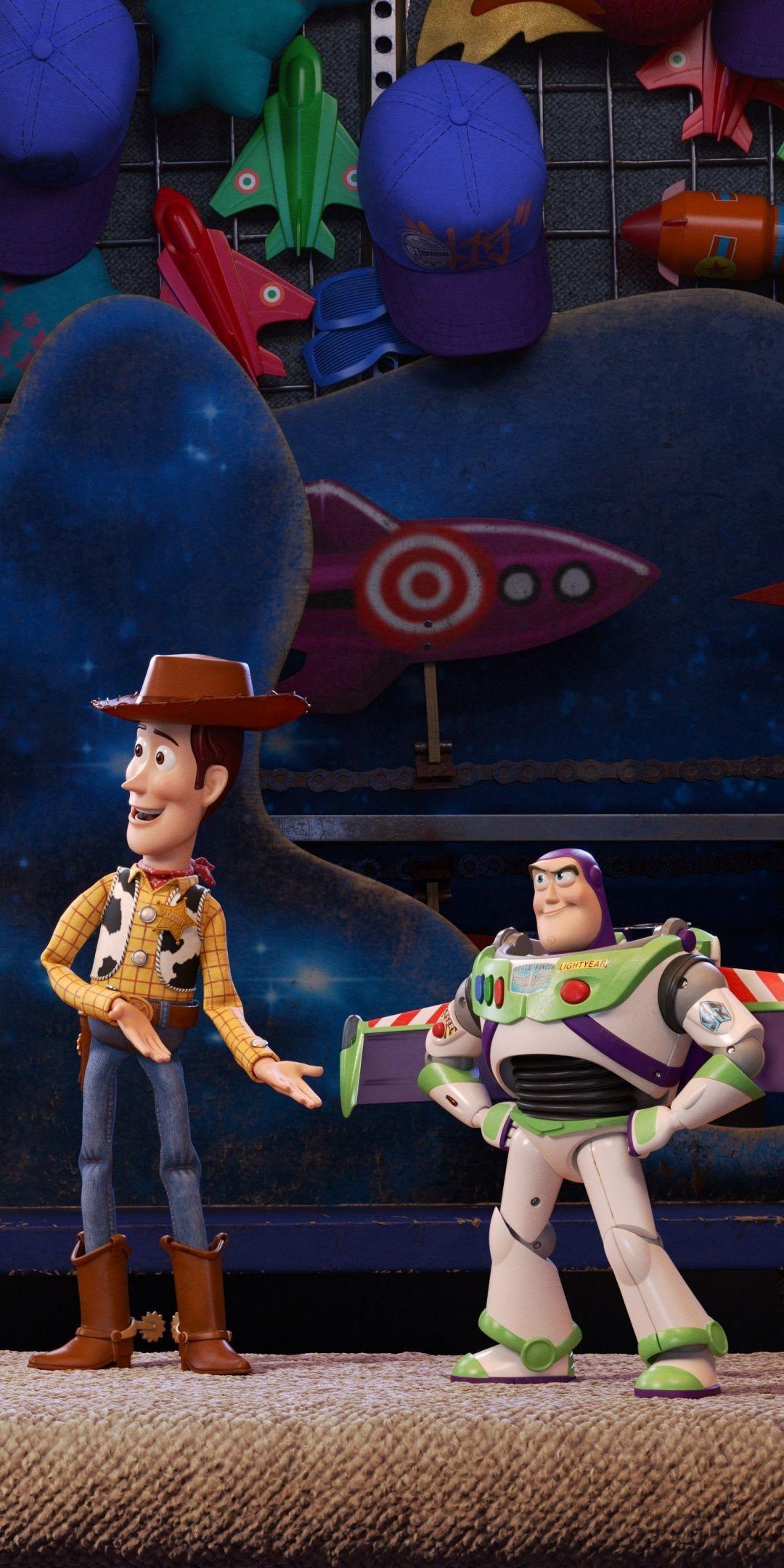 Toy Story 4, Woody, Buzz Lightyear, animation movie, 2019