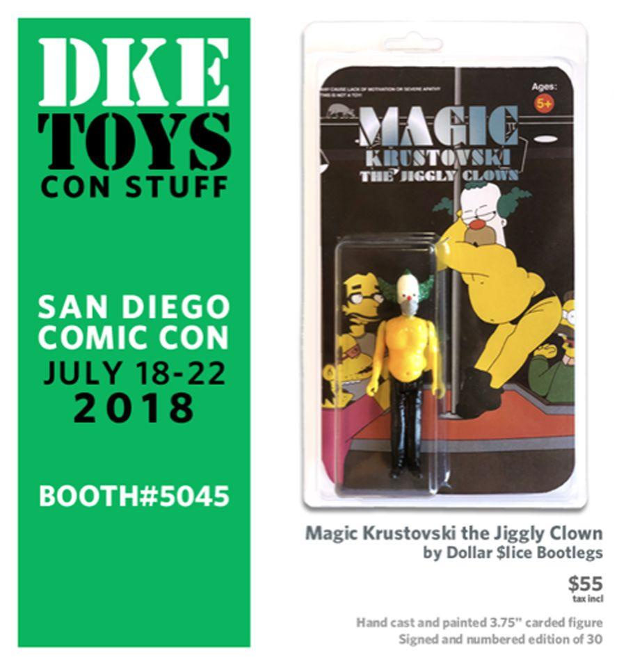 Magic Krustovski Comic Con San Diego Comic Con It Cast