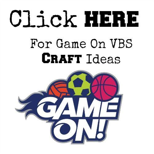 Lifeway Vbs  Game On Preschool Crafts