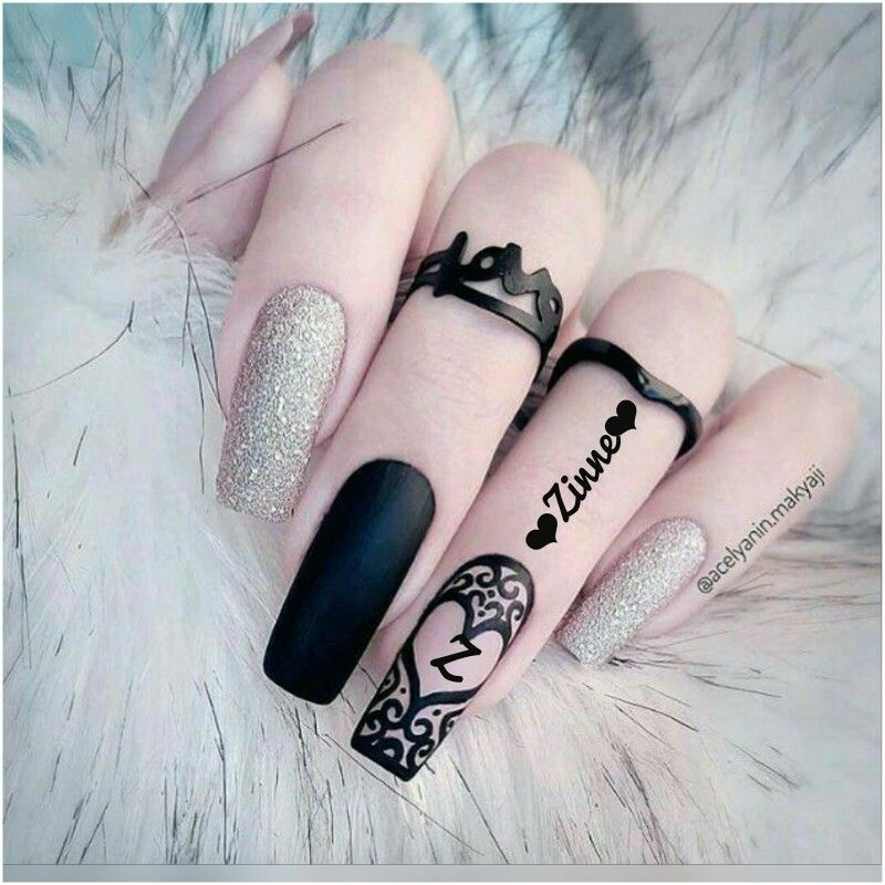 Get The Look 3 Valentine S Day Nail Art Ideas From Lauren B: Pin By Alisha Khan On Girls Names Dpzzz