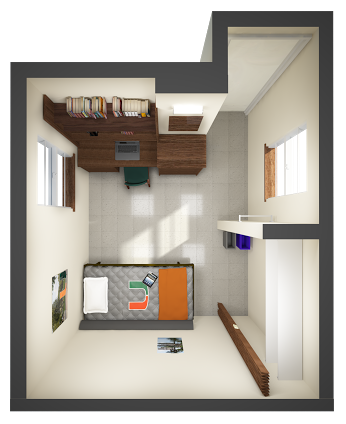 Single Dorm Room Layout Google Search Floor Plans