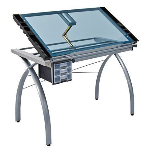 Studio Drawing Table Drafting Artist Adjustable Office Desk Glass Architect New Nonbranded Craft Station Drawing Table Drafting Table