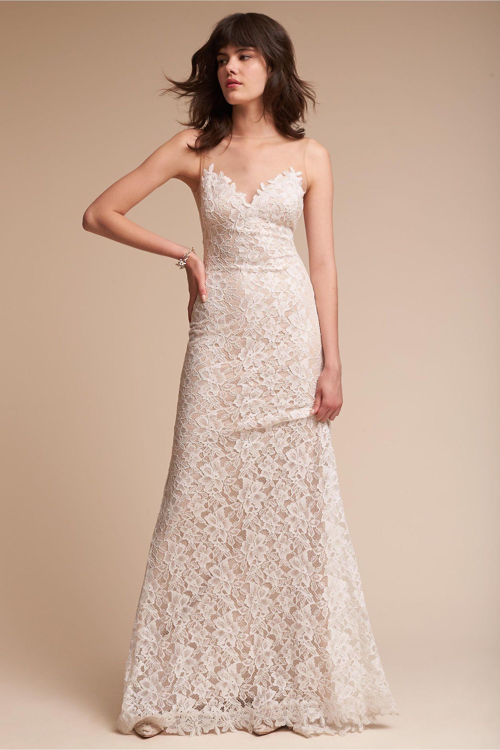 12c3f75010fa BHLDN's Tadashi Shoji Helios Gown in Ivory | Products | Dresses ...