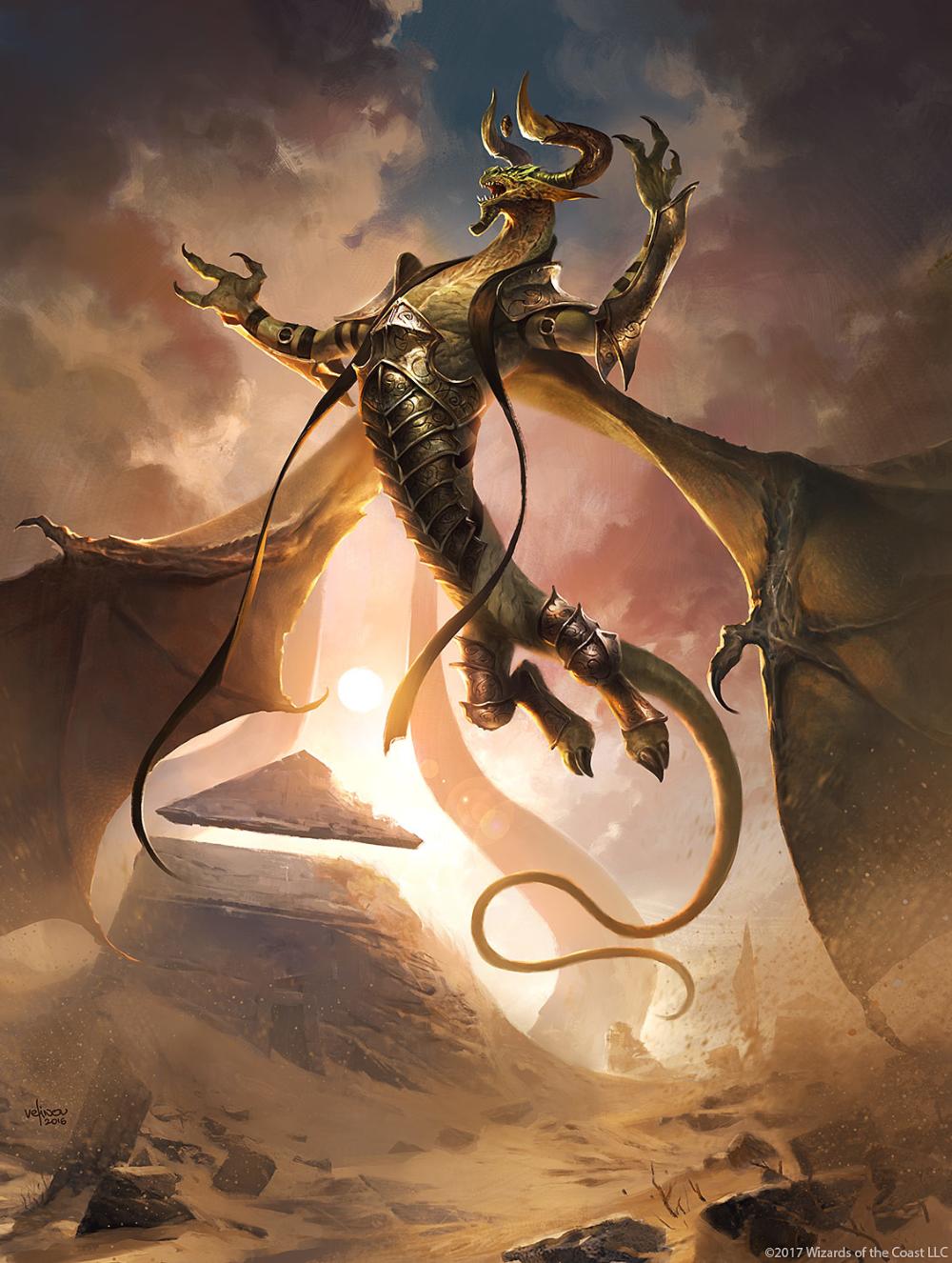 Artstation Nicol Bolas The Deceiver Svetlin Velinov Mtg Art Dragon Art Fantasy Creatures