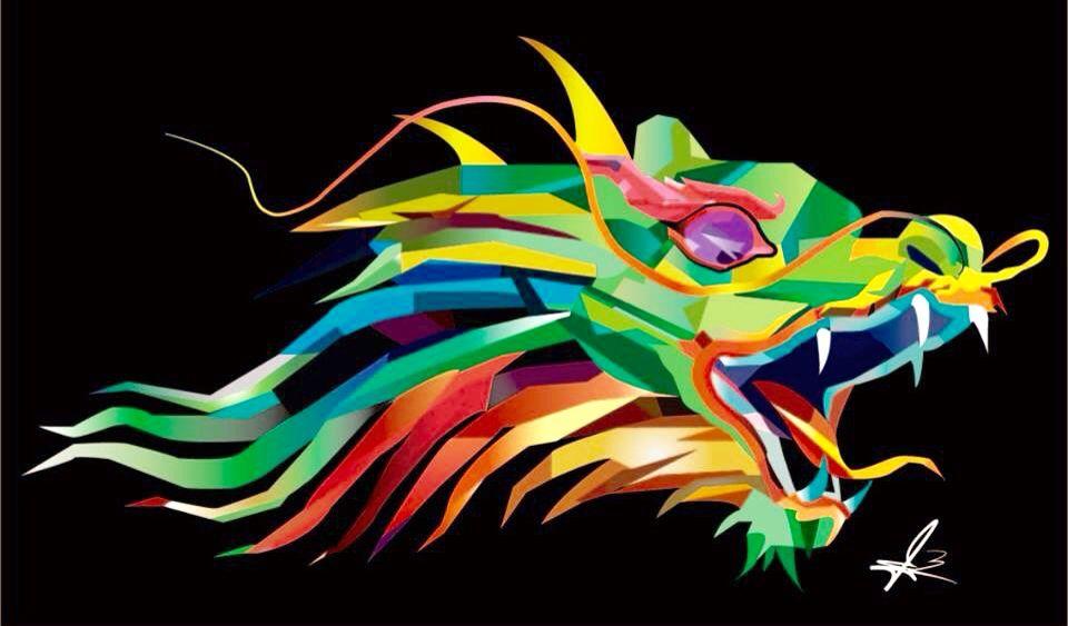 Dibujo y Edición Digital de dragón