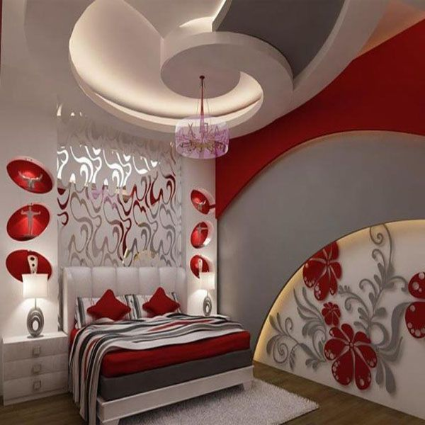 30 gorgeous gypsum false ceiling designs to consider for your home decor - Home Ceilings Designs