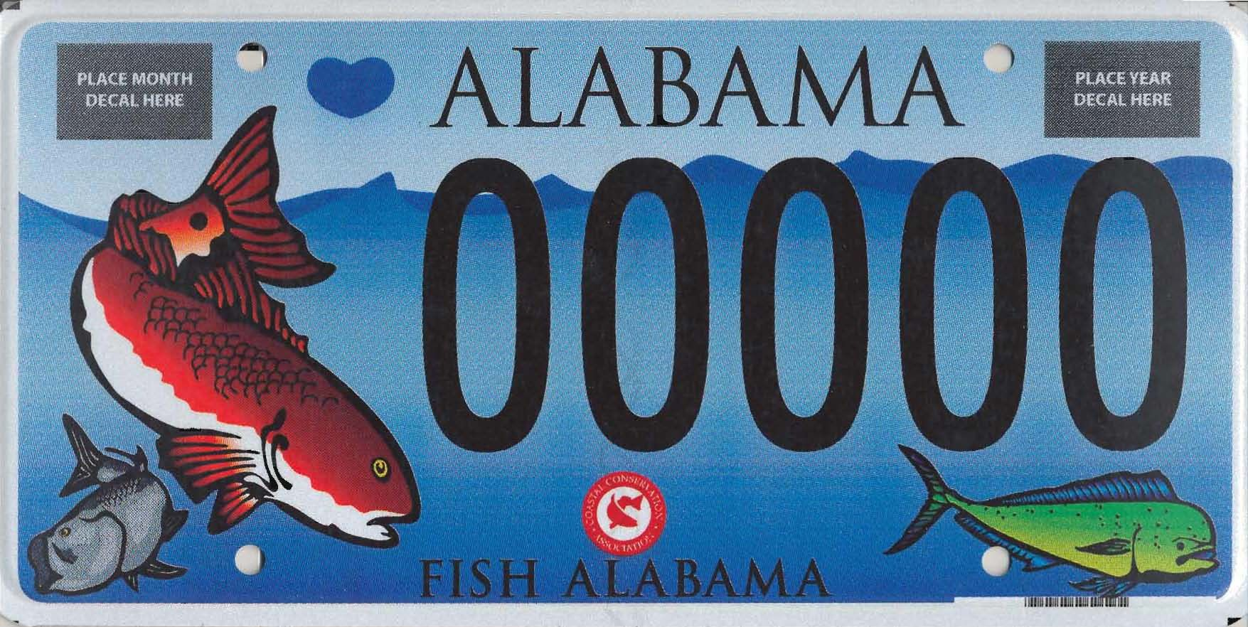 BASS FISH PERSONALIZED LICENSE PLATE CUSTOM CAR TAG FISHING VANITY PLATE