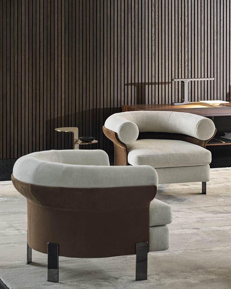 Minotti Collection 2020, Mattia armchair