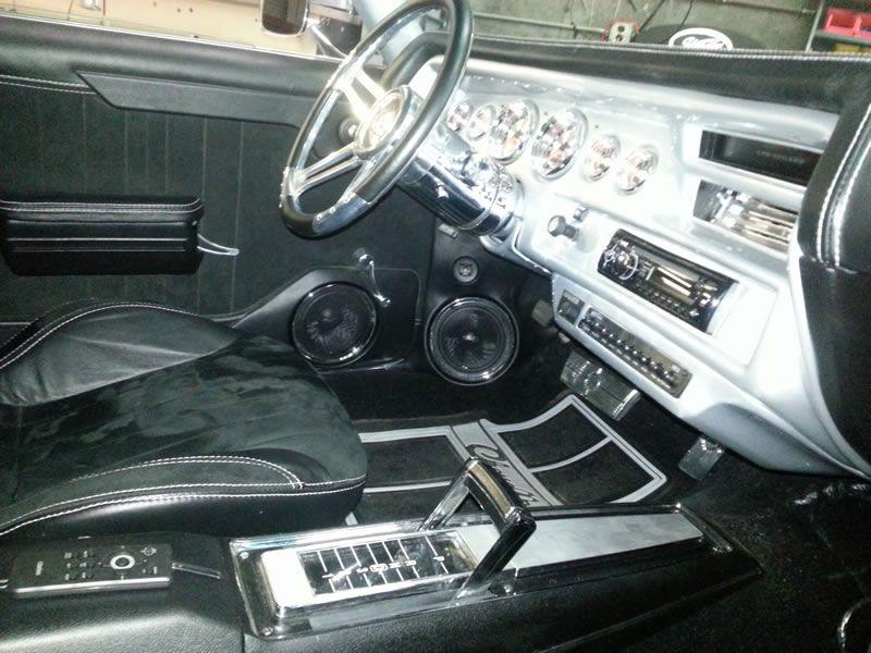 71 Chevelle Custom Dash Door Panels 71 Chevelle Car Audio Chevelle