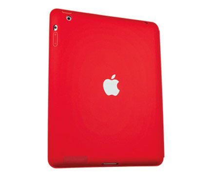 A portion of the profits from Apple's (Product)Red case goes to The Global Fund to fight disease in Africa. $49; JoinRed.com