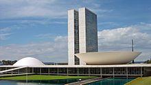 Brasilien – Das Kongressgebäude in Brasília
