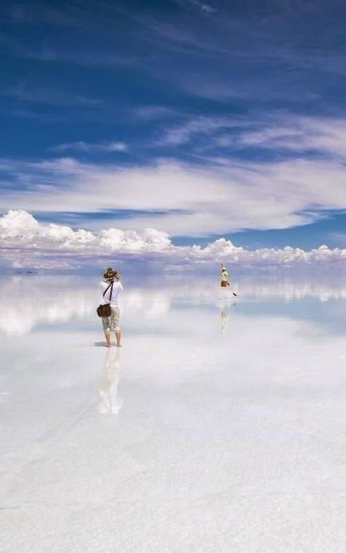 Salar De Uyuni Is A Magical Place When Covered By Water
