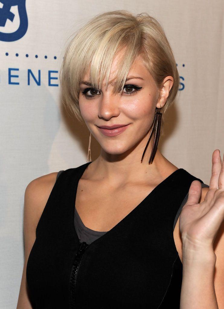 Katharine Mcphee S Punk Pixie Womens Hairstyles Thick Hair Styles Short Hair Styles