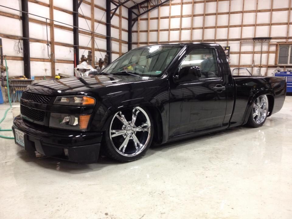 Bagged Chevy Colorado S 10 Colorado Chevy Trucks Lowered