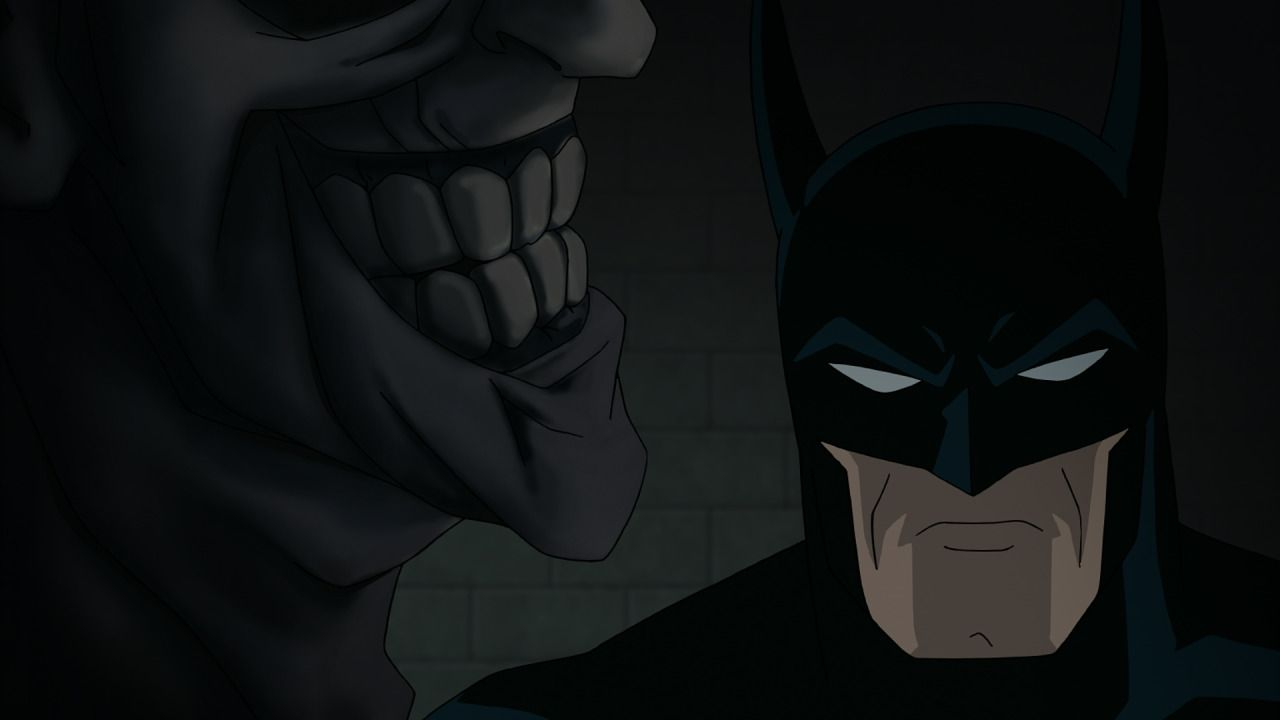 The animated version of Batman: The Killing Joke is now available on DVD and Blu-ray from Warner Bros. Animation. #Batman #TheKillingJoke #moviereview #MarkHamill #KevinConroy #DCComics #BruceTimm #WarnerBrosAnimation #TheJoker #Batgirl #animation #movies #superhero
