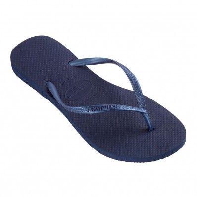 ab3cb352269a Havaianas Slim Navy Blue at Flopestore Malaysia