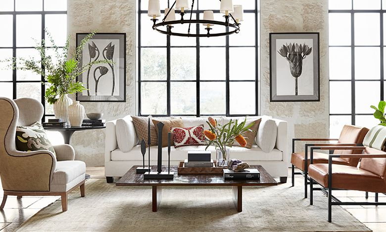 Wine Country Inspired Living Room By Williams Sonoma Luxury