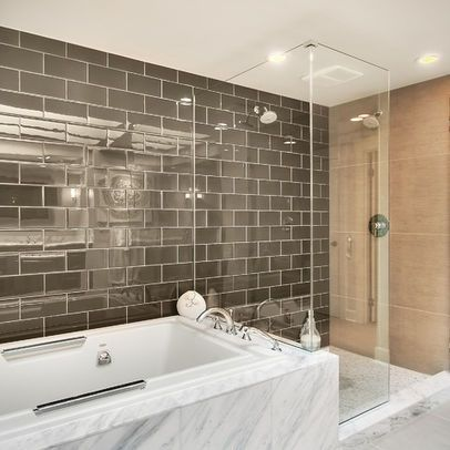 tan subway tiles design, pictures, remodel, decor and