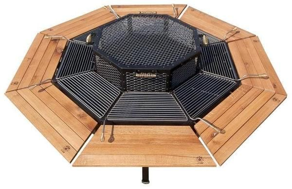 Jag Grill This Will Make The Best Bbq Kbbq Parties Fire Pit Table Outdoor Fire Pit Fire Pit Grill