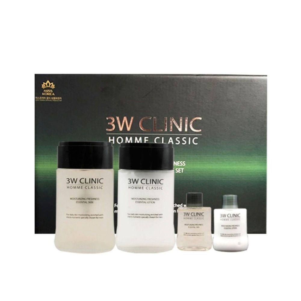 Dodo 3w Clinic Homme Classic Essential Skin Care Set Korea Cosmetic Dodo3wclinic 333korea Skincare Beauty Ko Skincare Set Skin Care Essentials Skin Care