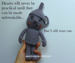 Amigurumi To Go: He Is In Need Of A Heart