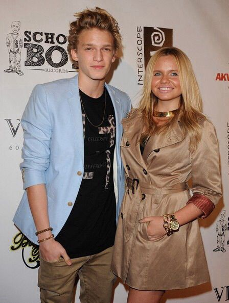 Cody Simpson and Alli Simpson