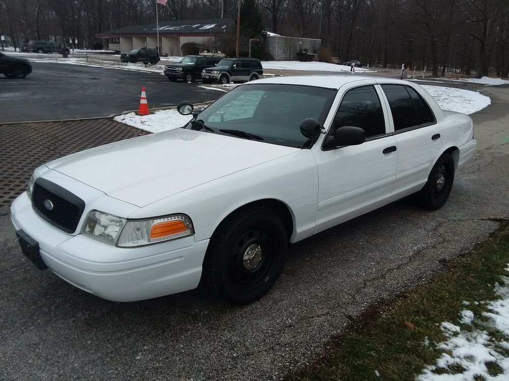 2008 Ford Crown Victoria Police Interceptor 2008 Ford Crown