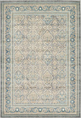 Vintage 6 Feet By 9 Feet 6 X 9 Salzburg Gray Area Rug Review Https