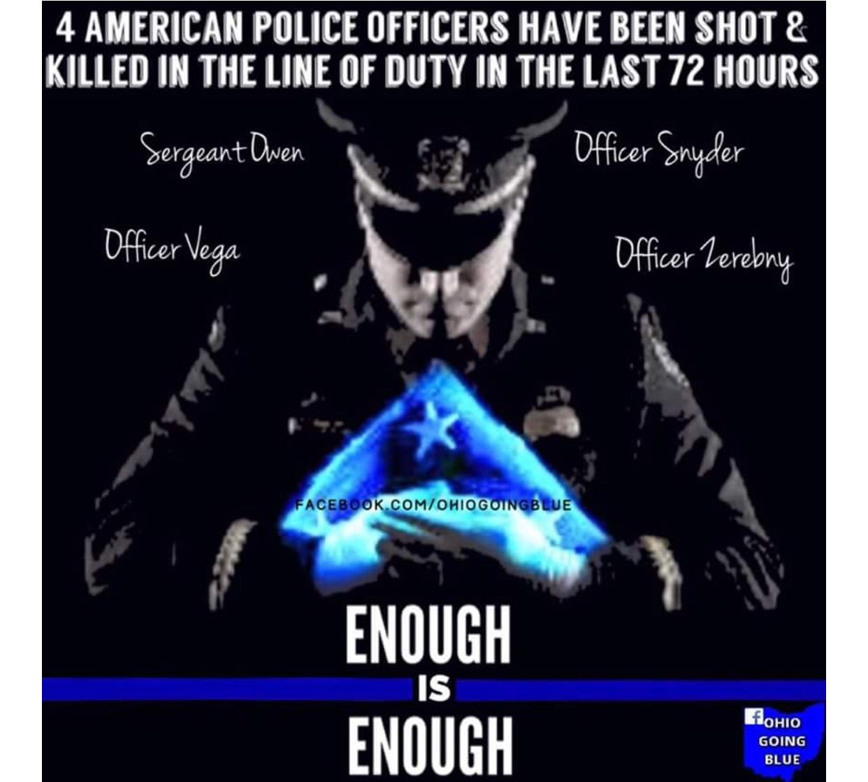 ENOUGH IS ENOUGH !!! Blue lives matter, Police, Law