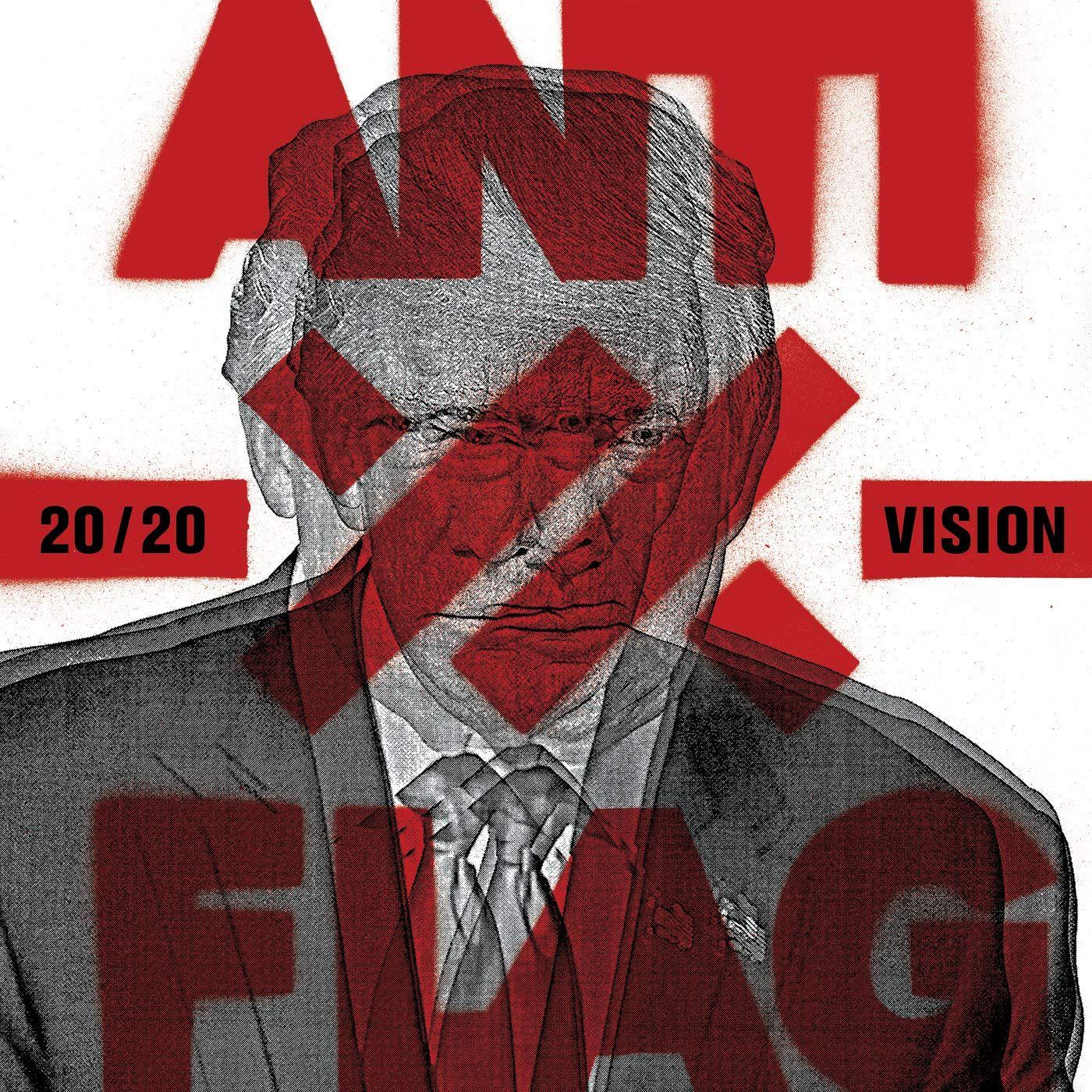 Album Review Anti Flag 20 20 Vision In 2020 Anti Flag News Songs Metal Albums