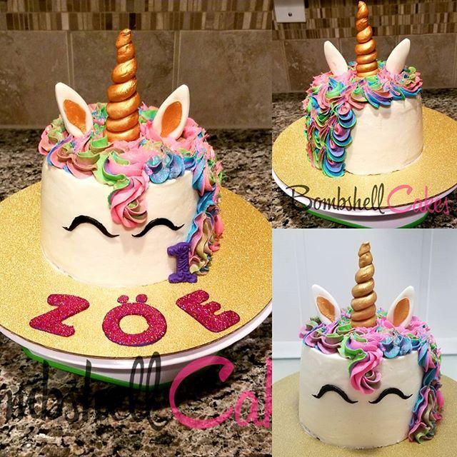 Unicorn Cake #cakelife #unicorncake #atlanta